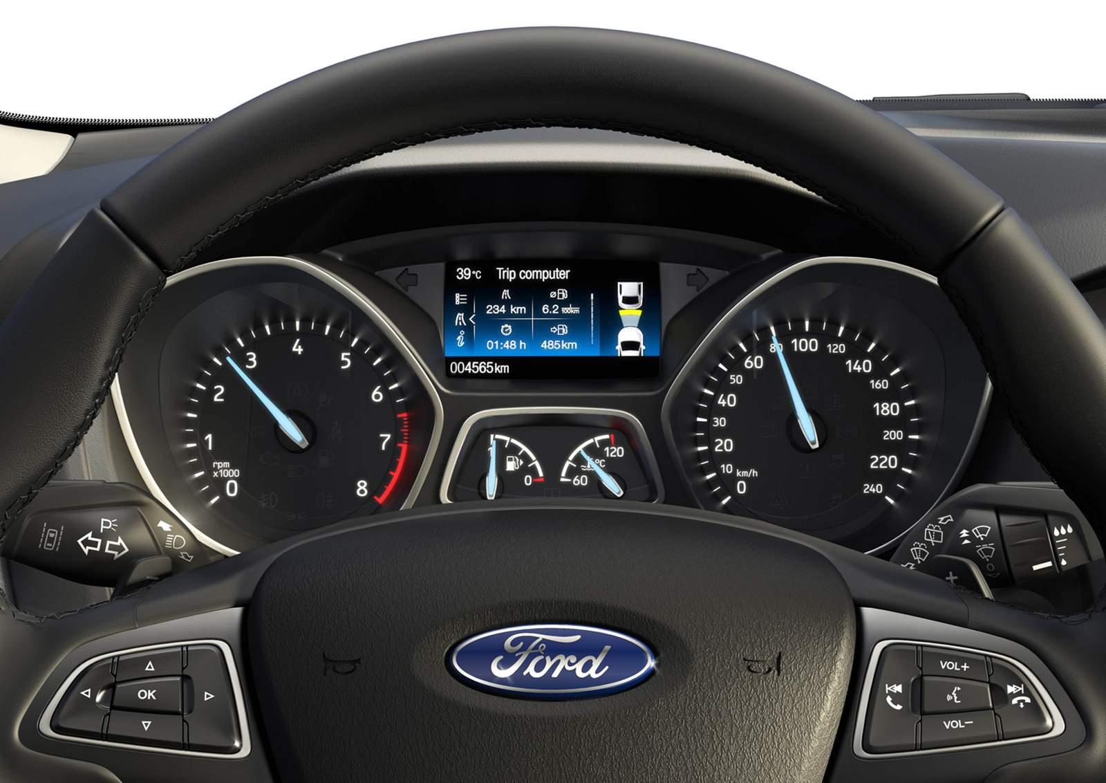 Novo Ford Focus 2016- cluster de instrumentos
