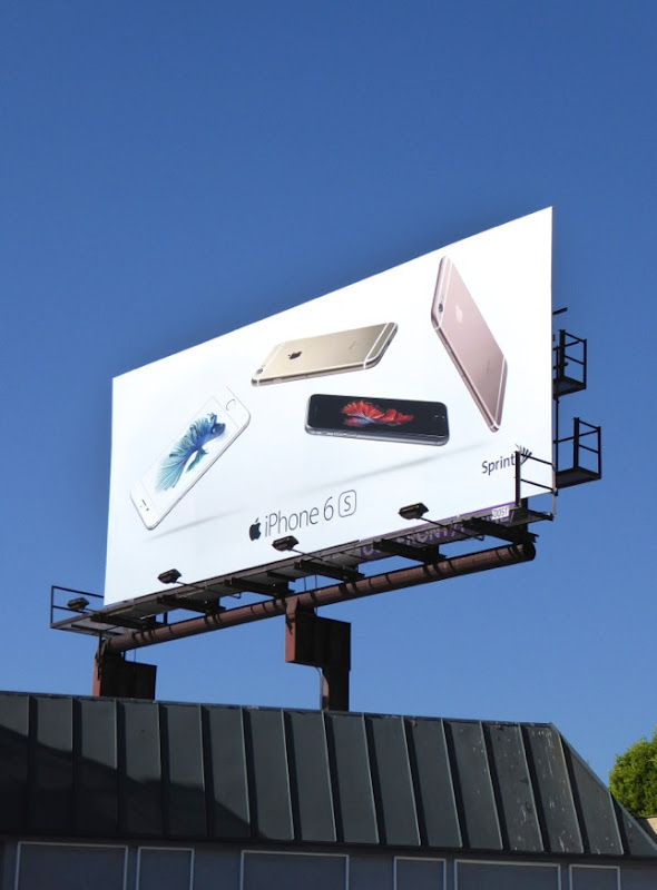 iPhone 6s billboard