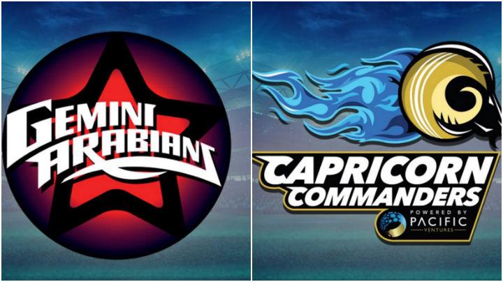 Gemini Arabians vs Capricorn Commanders Match 7 Live Streaming, Prediction