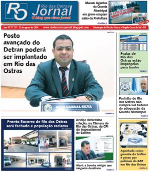 Jornal impresso já nas bancas