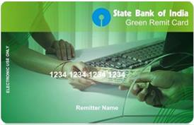 SBI Green Remit Card