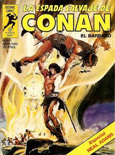 Portada La Espada Salvaje de Conan - Editorial Planeta DeAgostini-1ª edición