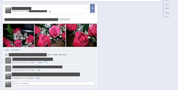 facebook vecchio profilo