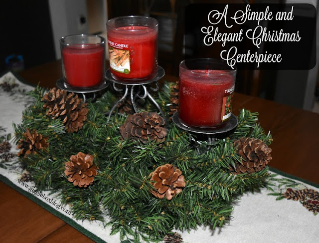 creating a simple and elegant Christmas dinning table centerpiece, how to create a Christmas centerpiece with items you may already have, Christmas decorations,