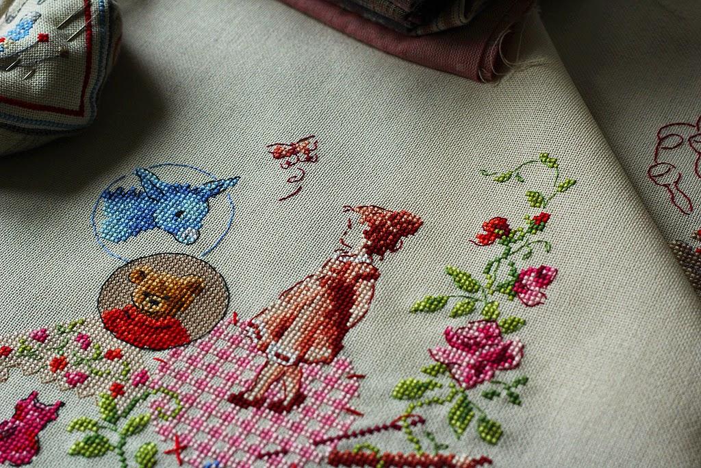 Рисунки для французской вышивки