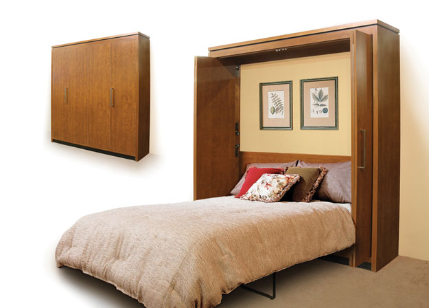 Interior design ideas for space saving in bedrooms house for Murphy bed interior design