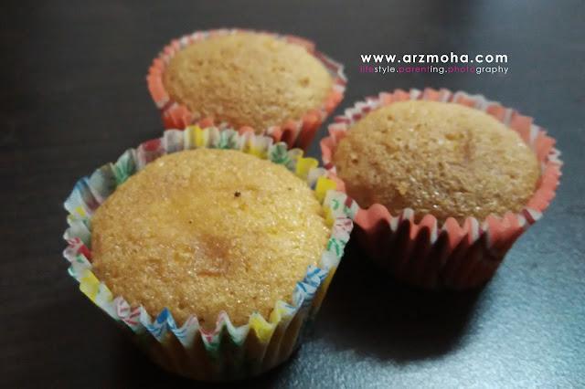 cupcake, idea menyediakan doorgift, cenderahati buat tetamu,
