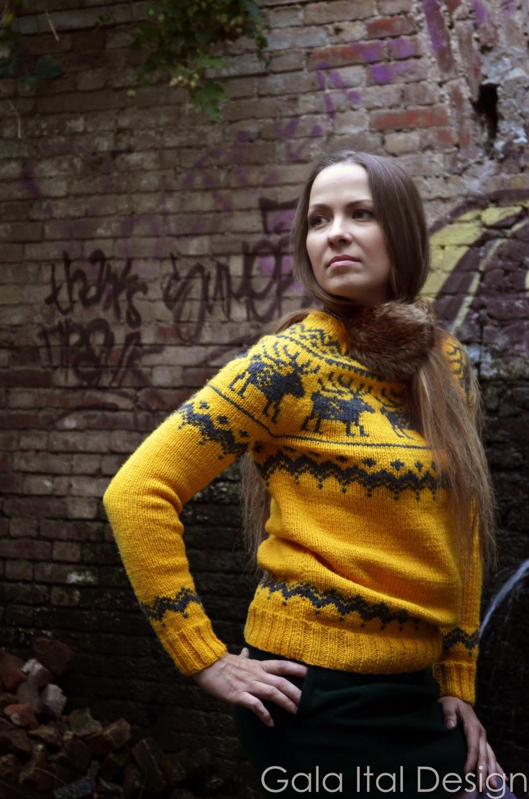 свитер, желтый, осень, зима, зимняя одежда, стильная одежда