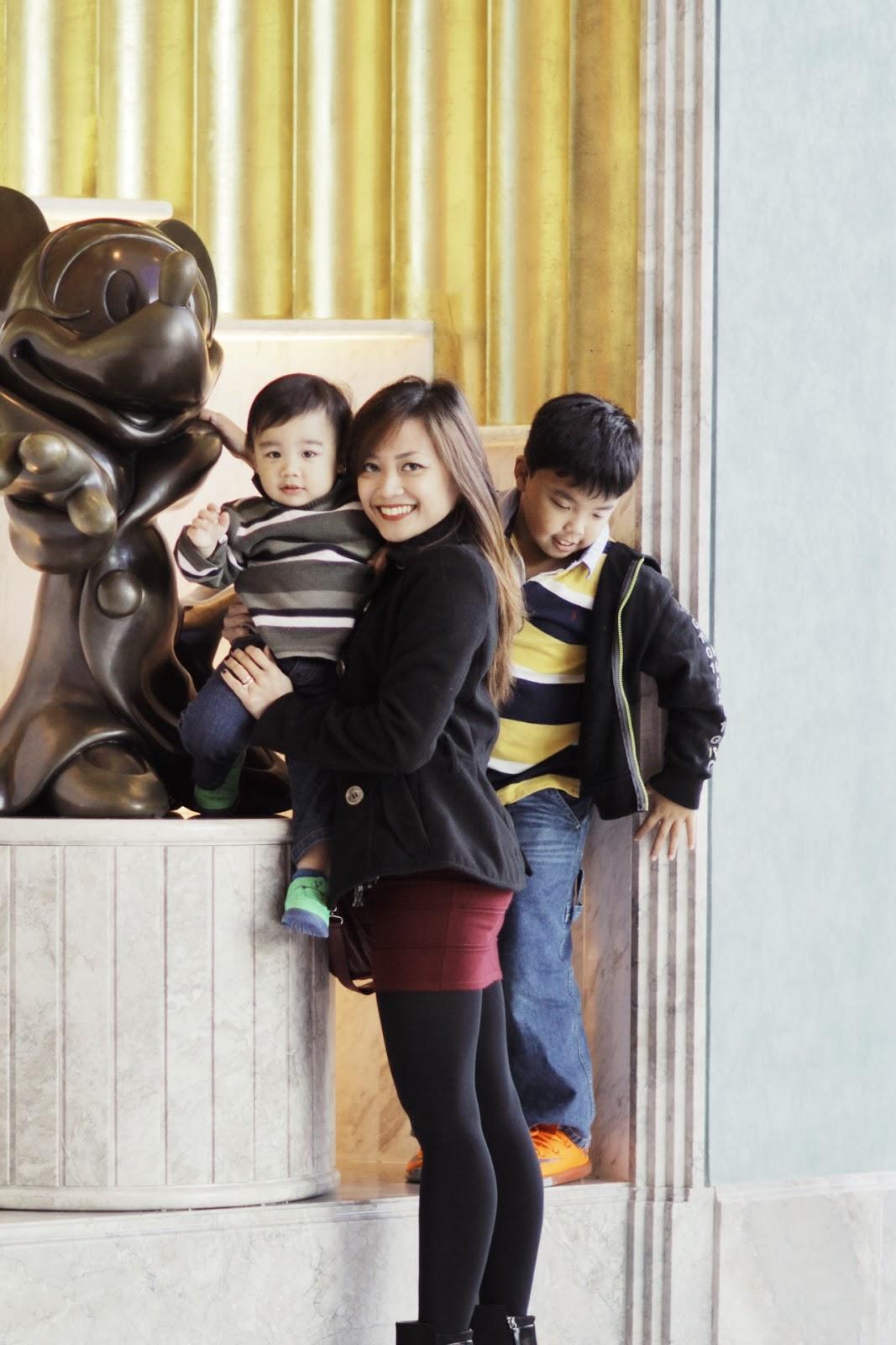 Balenciaga, Hong Kong, Travel, tourist, Christmas 2013, Disneyland