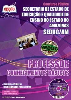 Apostila para professo de Historia para o concurso da SEDUC AMAZONAS