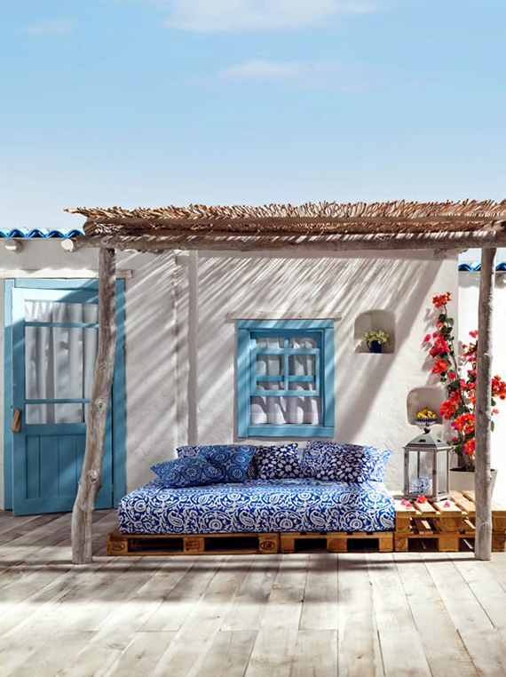 Mediterranean terrace via El Corte Inglés