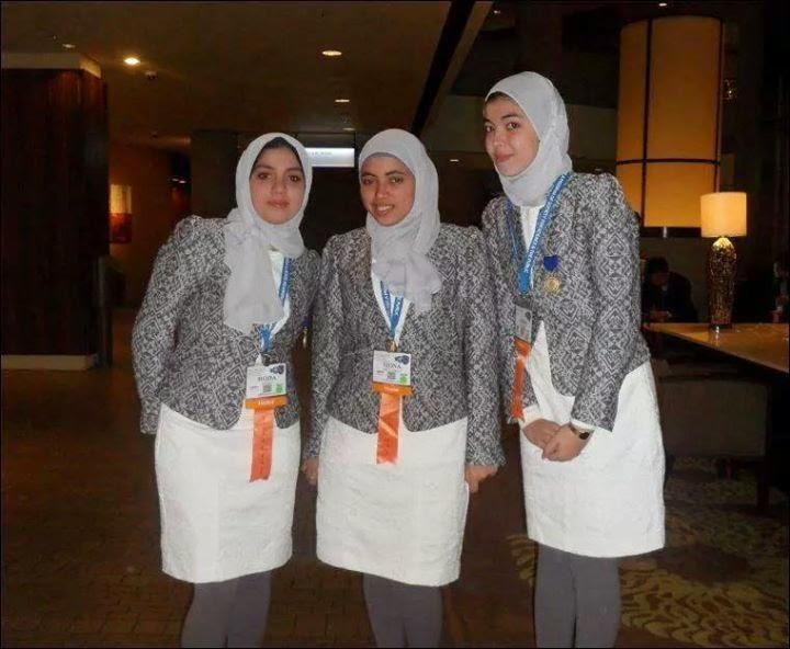 قوز 3 بنات مركز تانى مسابقة انتل باسيف وفرصة لتمثيل مصر فى المعرض النهائى فى لوس أنجلوس