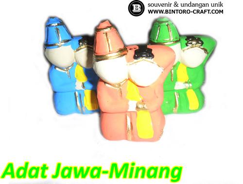 Souvenir Pernikahan Adat Jawa-Minang