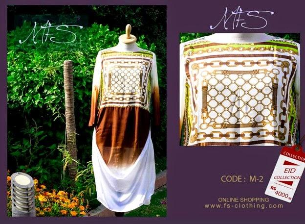 Mahreen Fahad Shiekh Eid Dress Collection 2014