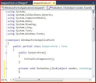 Homeschool Programming - Code Window for Jeepers Beepers