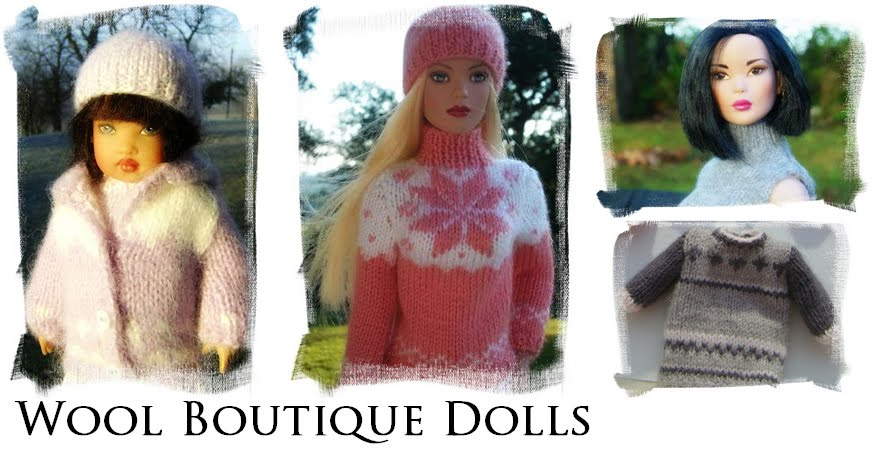 Wool Boutique For Dolls