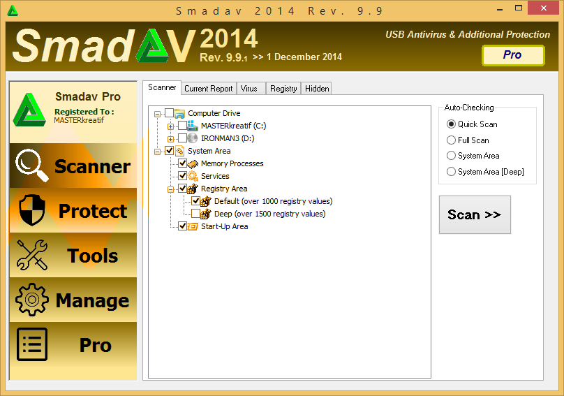 Smadav 2014 Rev. 9.9 Pro