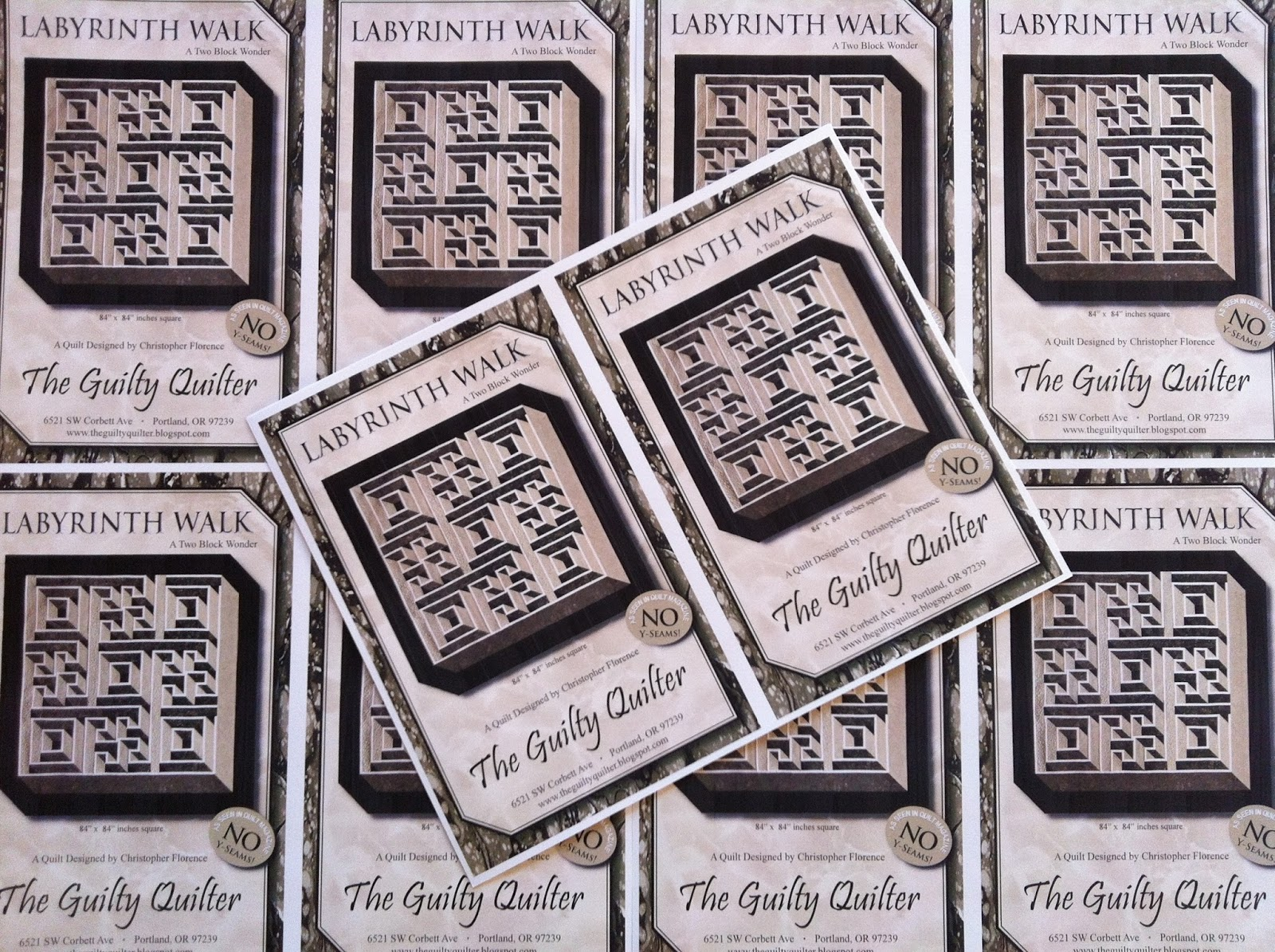 Labyrinth Quilt Pattern Free Download : The Guilty Quilters: The New