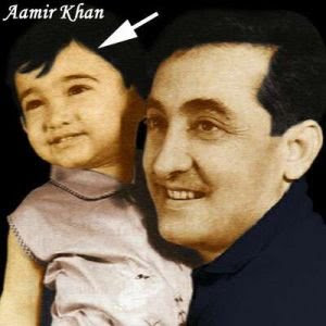 Amir Khan Childhood Pictures