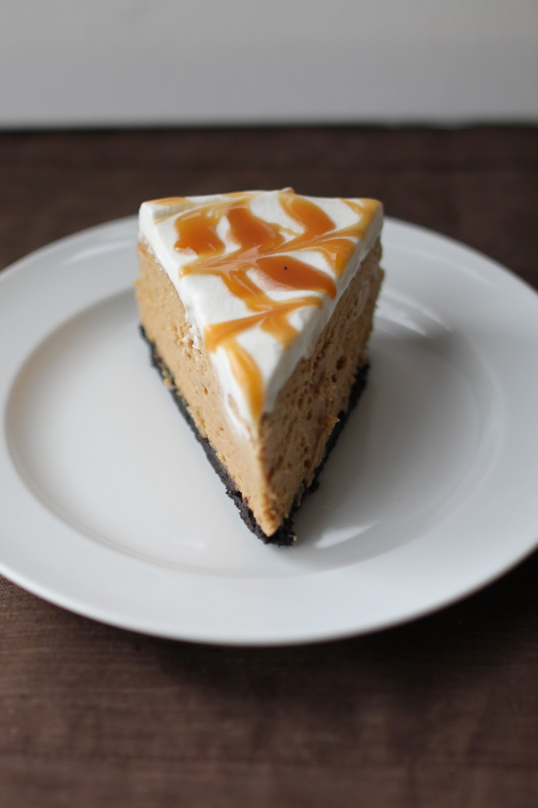Caramel Cappuccino Cheesecake Recipe — Dishmaps