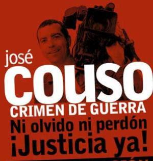 José Couso crimen de guerra