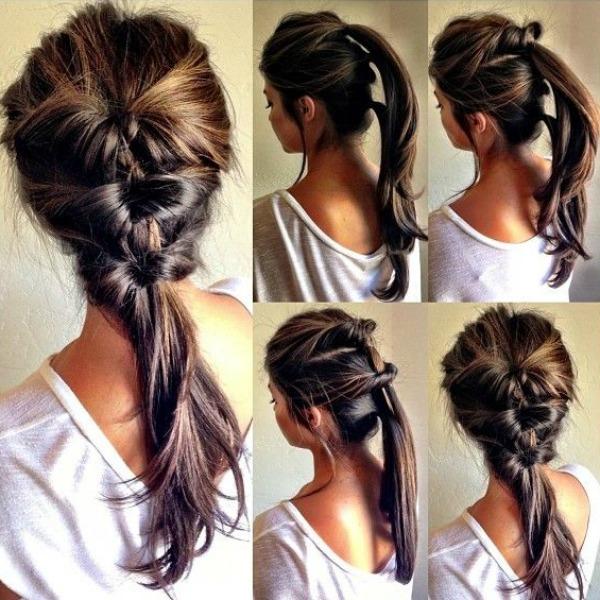 Penteados fáceis para o verão
