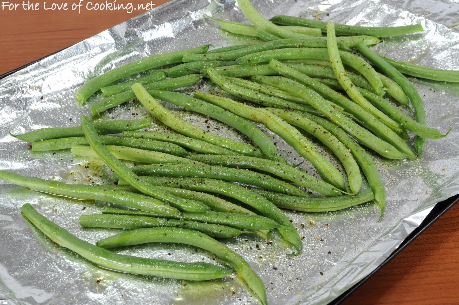 Roasted Green Beans   For the Love of Cooking
