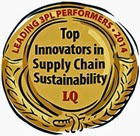 LQ 3PL Best Performer in Sustainability Crest