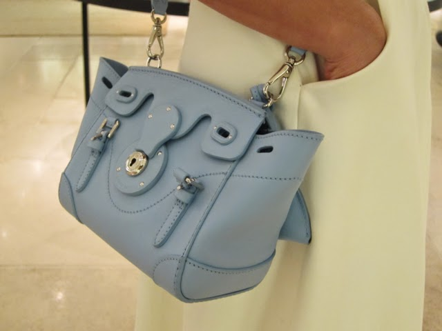 b456dd3adea3 The mini Ricky bag I m obsessed with now. Sparkly heels by Ralph Lauren