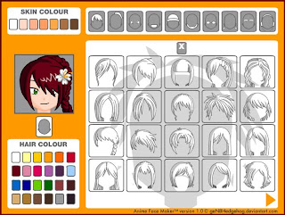 Avatar Anime Face Maker Avatar Online Creation