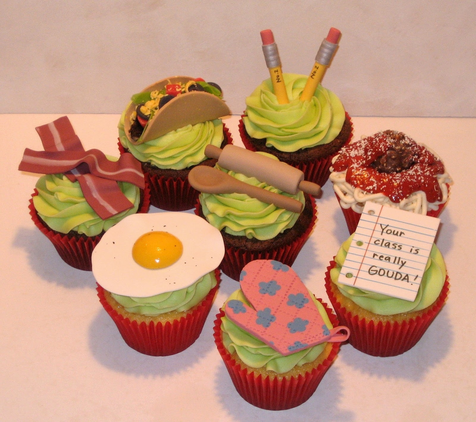 Cupcakes For Teachers