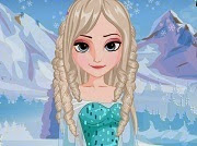 Frozen Elsa Feather Chain Braids