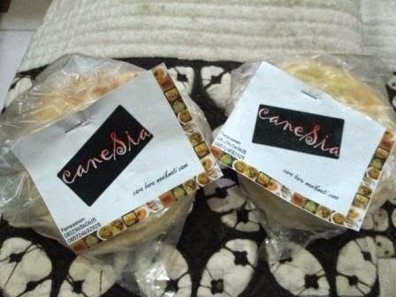 Roti Cane caneSia Frozen Reguler & Mini