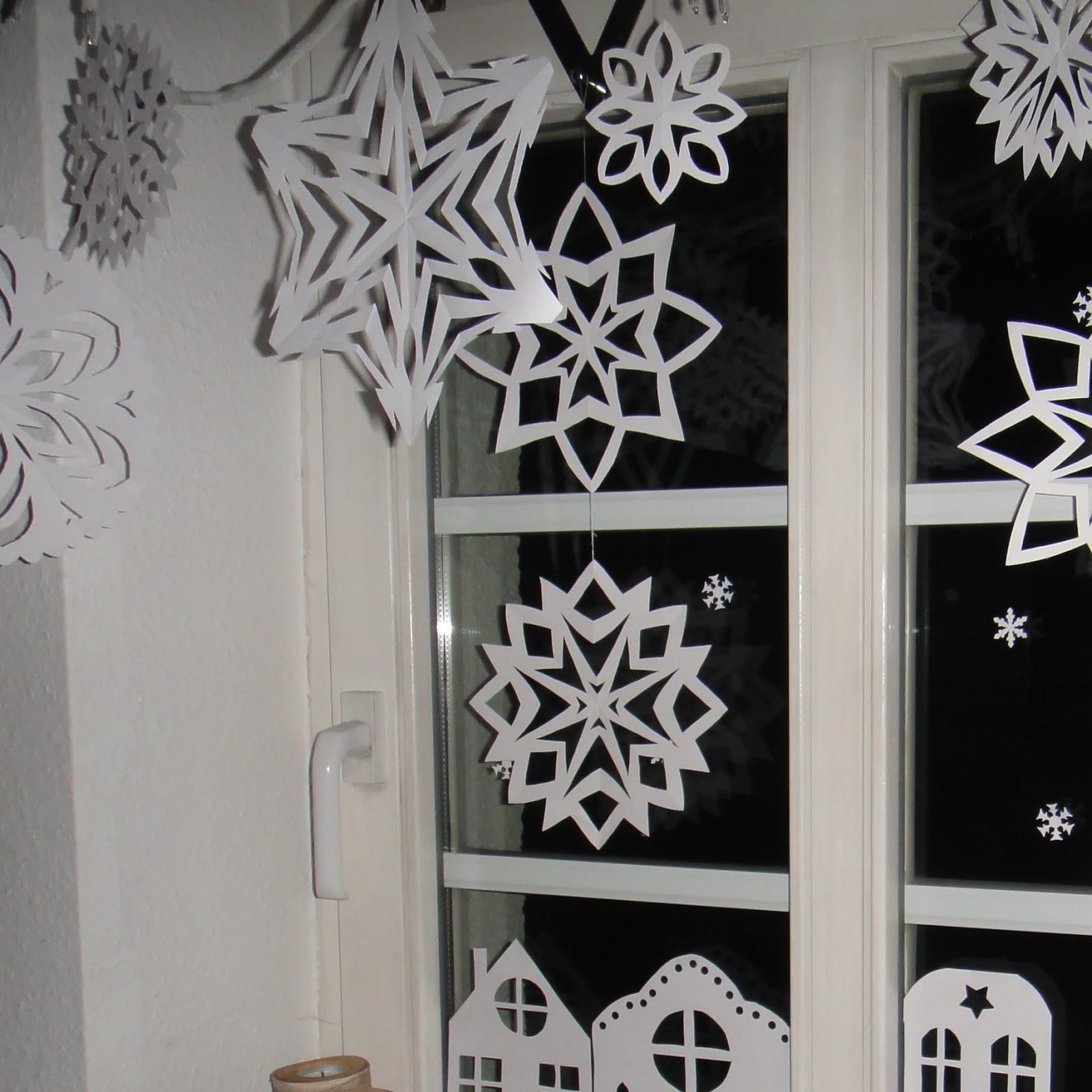 Ines felix kreatives zum nachmachen weihnachts for Fensterdeko winter