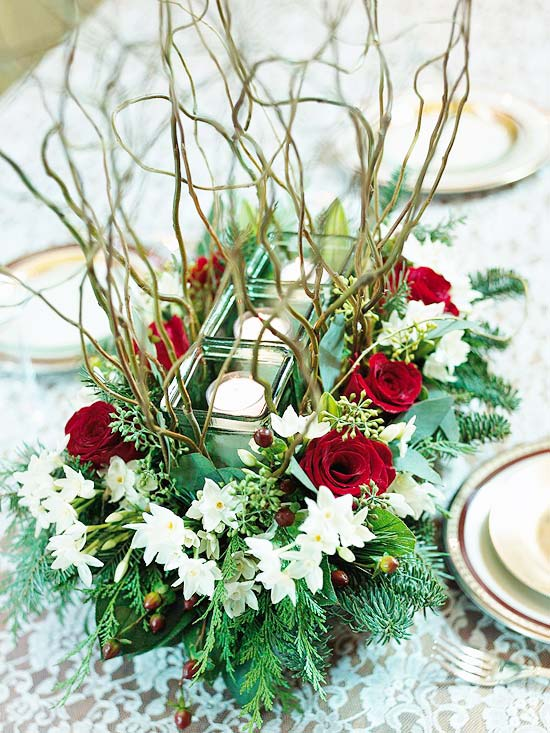 Homemade Christmas Centerpiece Easy : Modern furniture design new simple christmas centerpieces