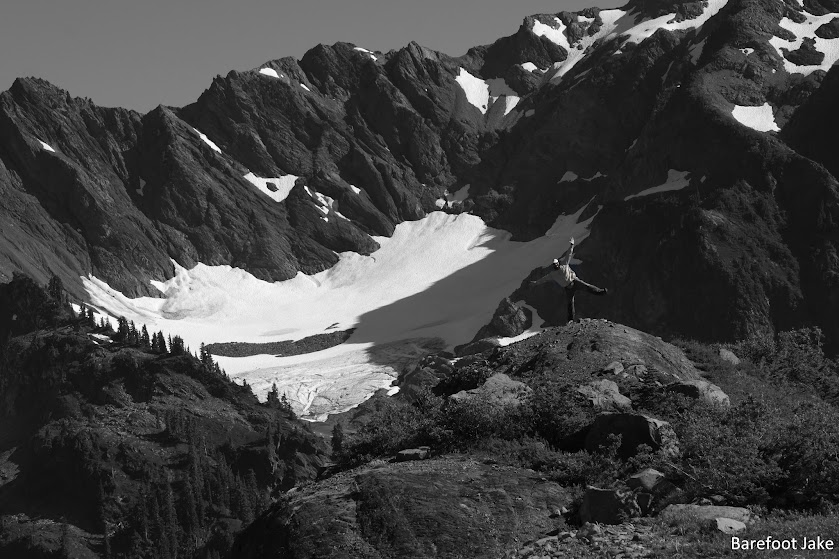 white glacier olympic
