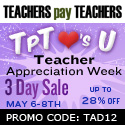 TeachersPayTeachers sale Charlene Tess