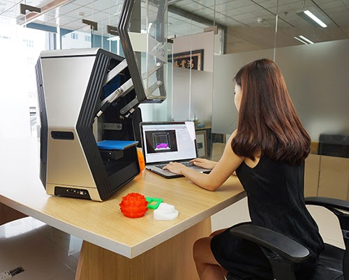 Diy 3d printing rapide one 3d printer for Furniture 3d printer