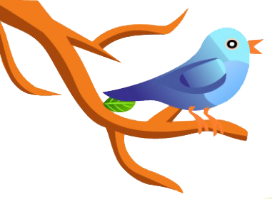 Add ''Seated Twitter Bird'' Widget To Blog & Website