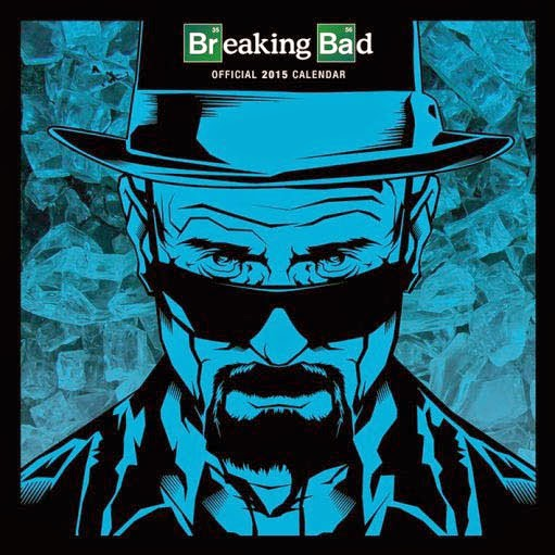Calendario 2015 Breaking Bad