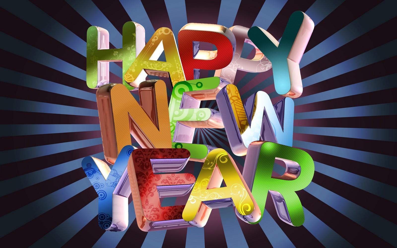 Happy new year achtergronden hd wallpapers - Jaar wallpapers ...