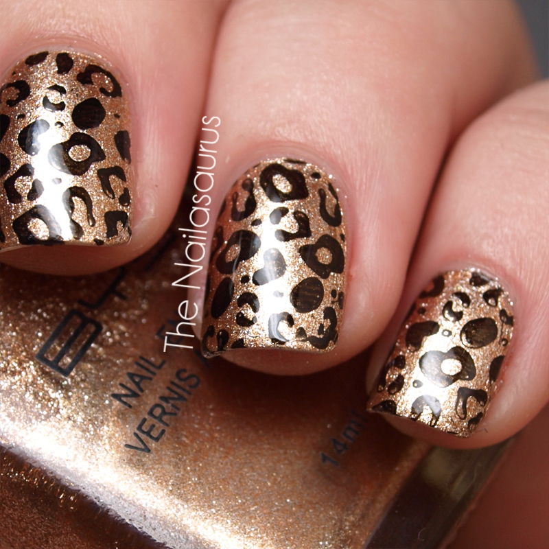 Day 13: Animal Print | The Nailasaurus | UK Nail Art Blog