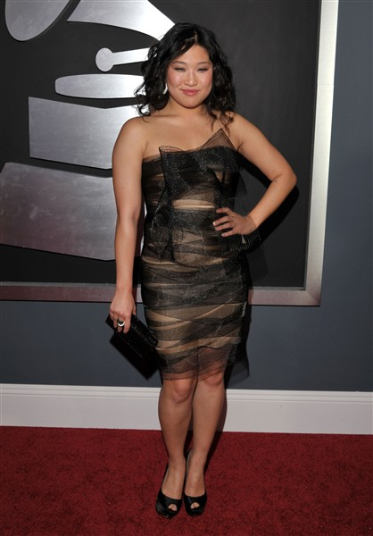 Another Sheer Faux Pas! Jenna Ushkowitz, What Were You Thinking? We