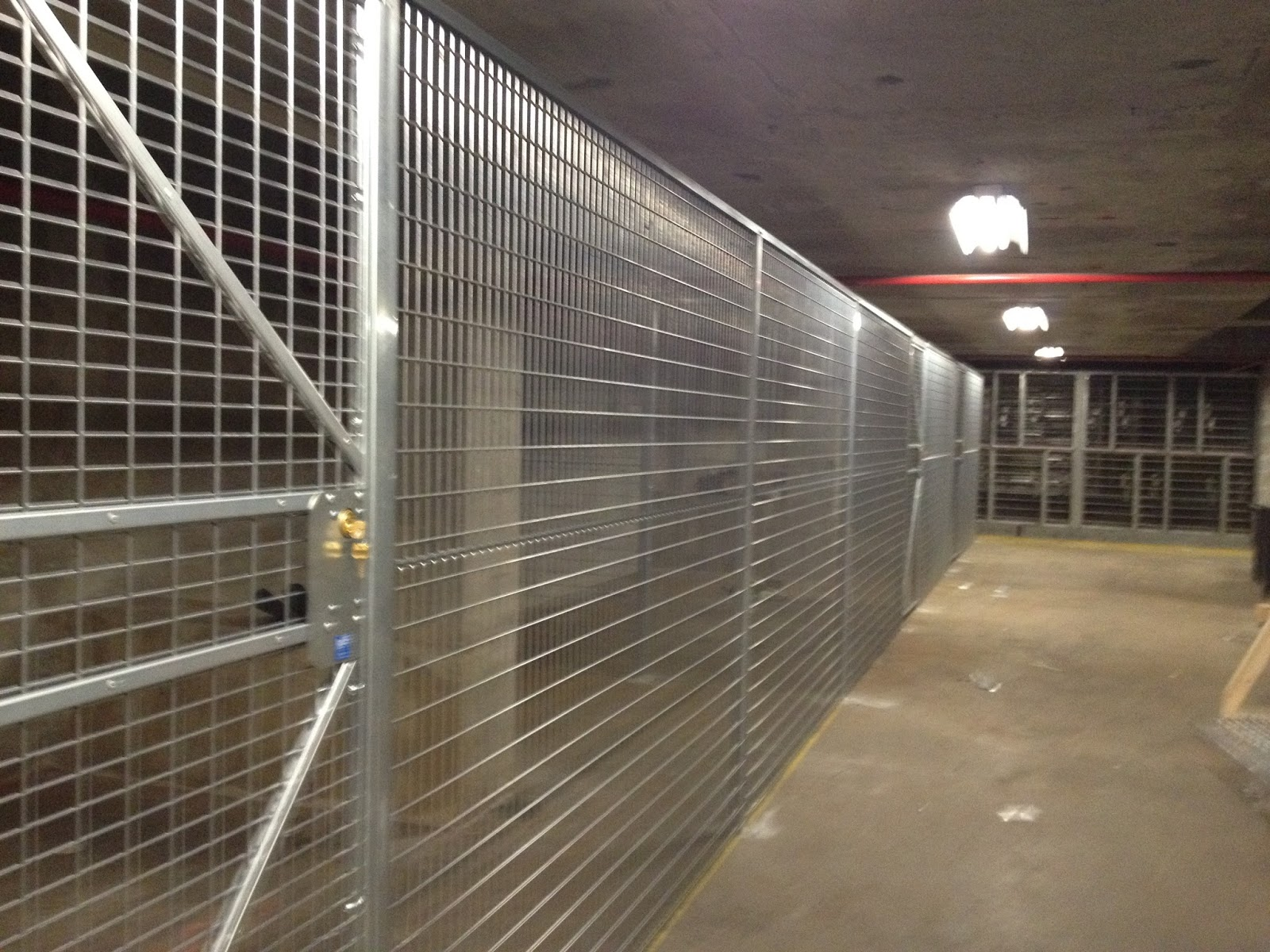 Security Cages Newark NJ: Welded Wire Partition Cages Newark | In ...