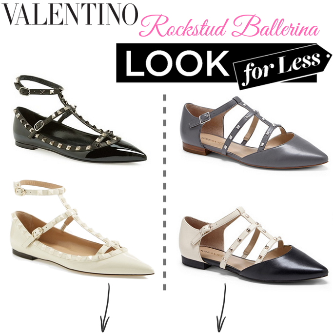 Valentino Rockstud Ballerina Flats Look Alike, Valentino Rockstud Ballerina Flats Look For Less, Valentino Rockstud Ballerina Flats Replica