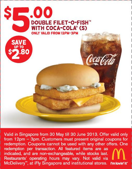 Mcdonald 39 s fun tastic saving coupons valid from 30th may for Mcdonalds fish fillet price