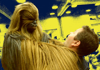 Chewbacca Demonstrates the Filner Dance