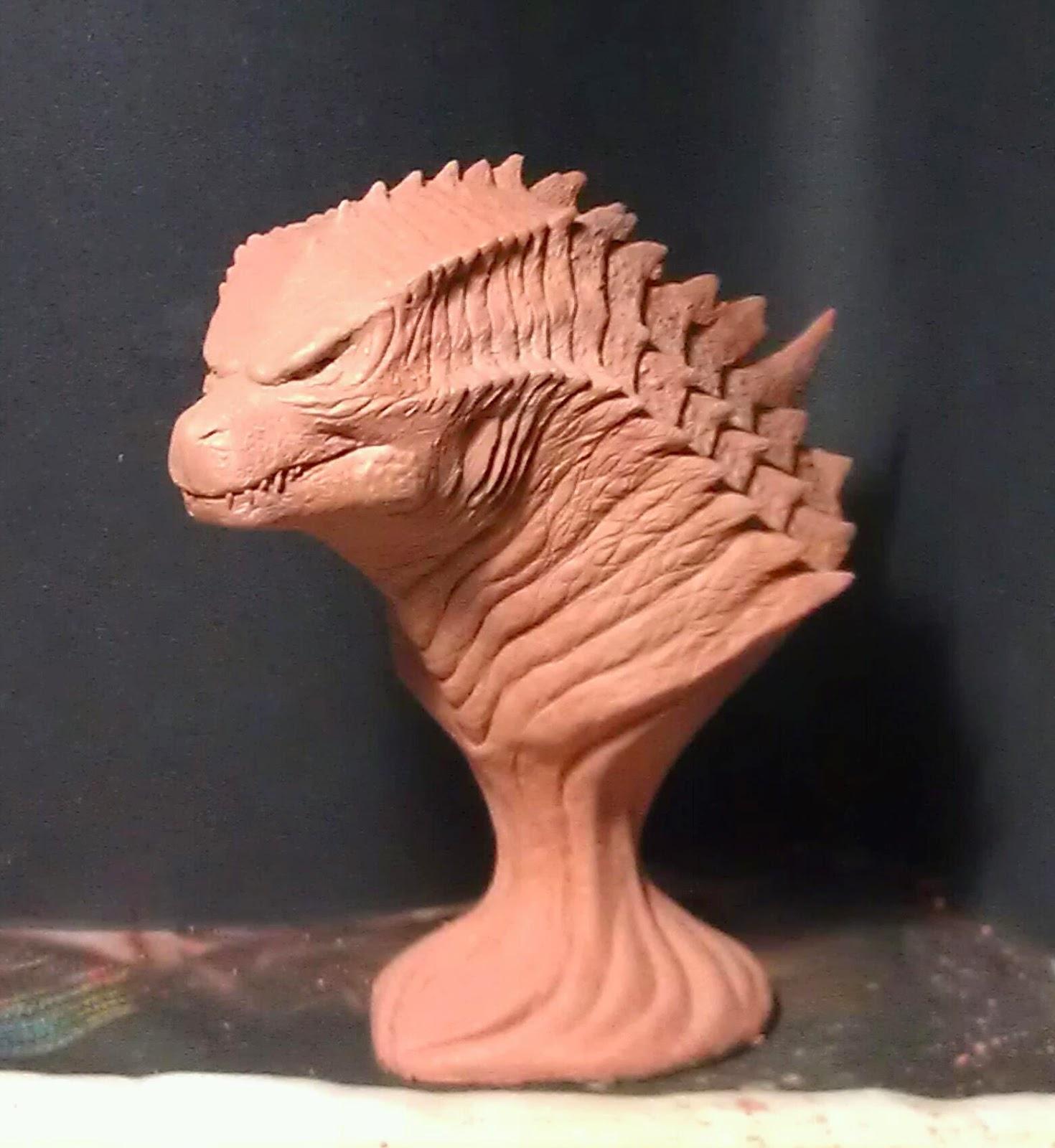 S H Sculpture Design Studio Godzilla 2014 Statue