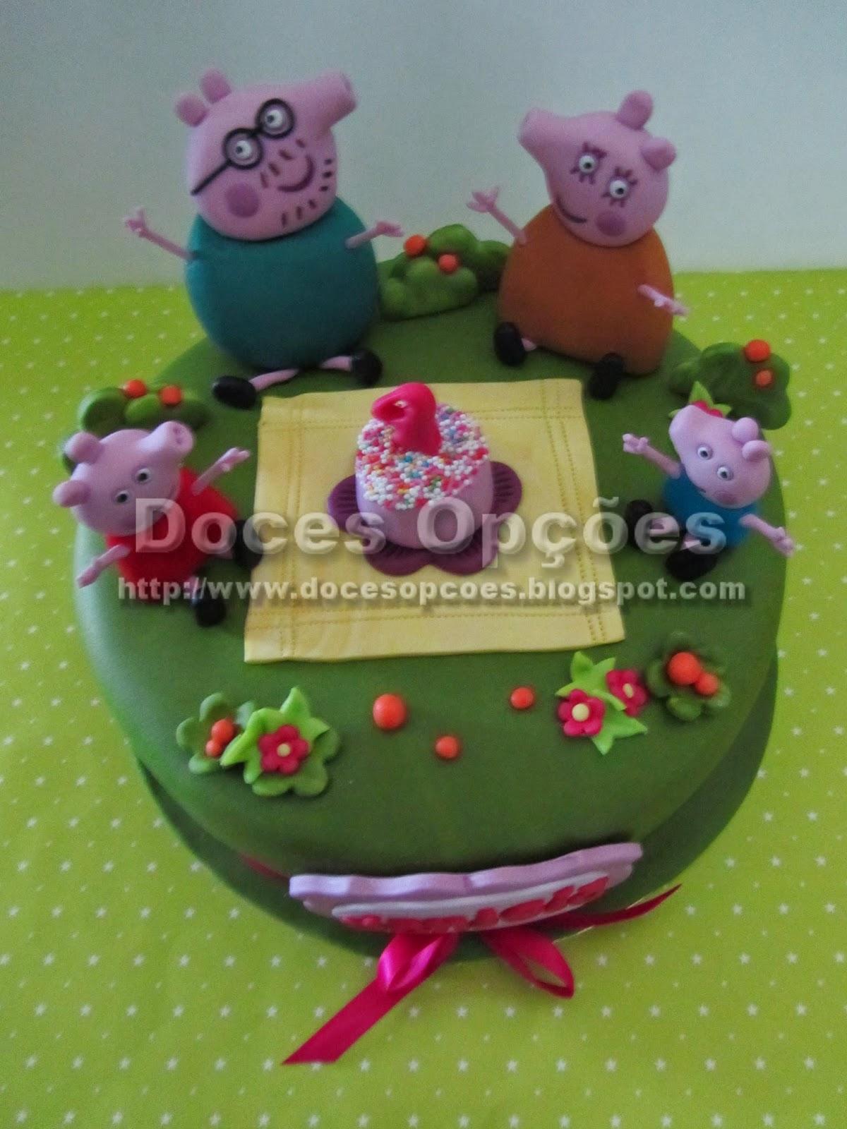 bolos decorados Porquinha Peppa