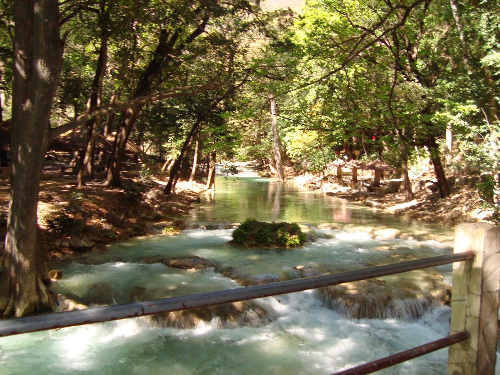 Chiapas, Cascadas del Chiflón parte Baja